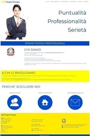 Anteprima sito web abpostaprivata.it