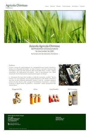 Anteprima Sito Web agricolachimisso.it