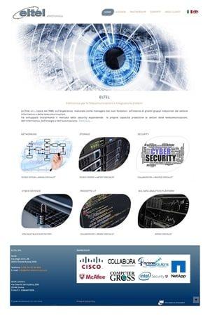 Anteprima Sito Web eltelelettronica