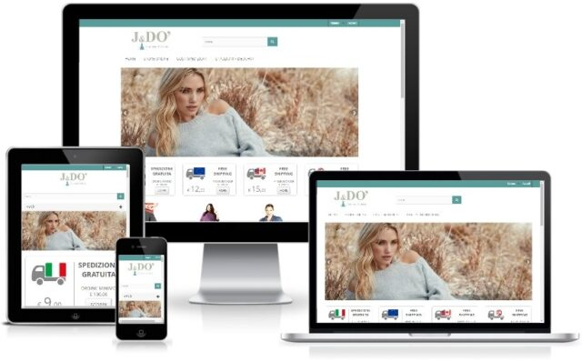 Anteprima Sito Web Responsive coronarifashion.it