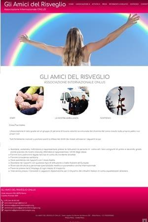 Anteprima Sito Web gliamicidelrisveglio_