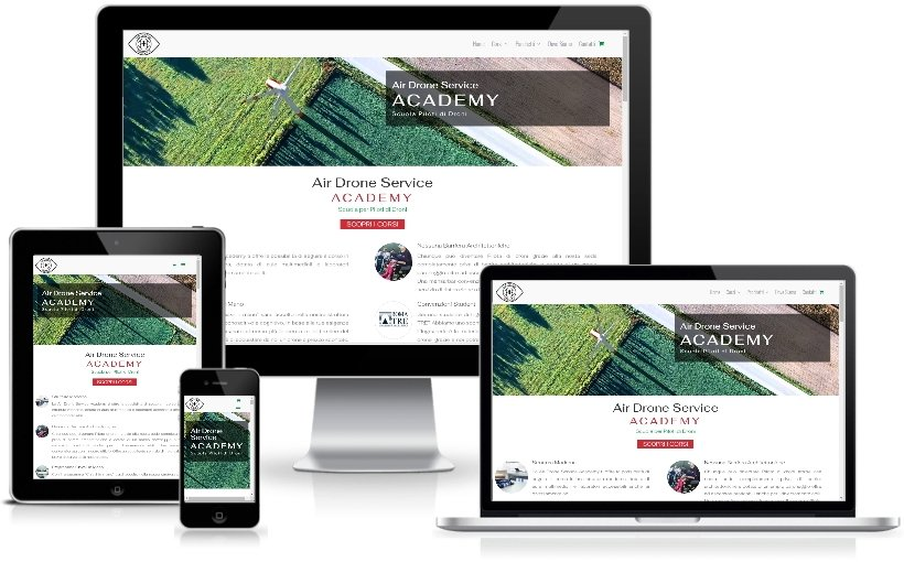 Anteprima Sito Web Responsive airdroneserviceacademy.it