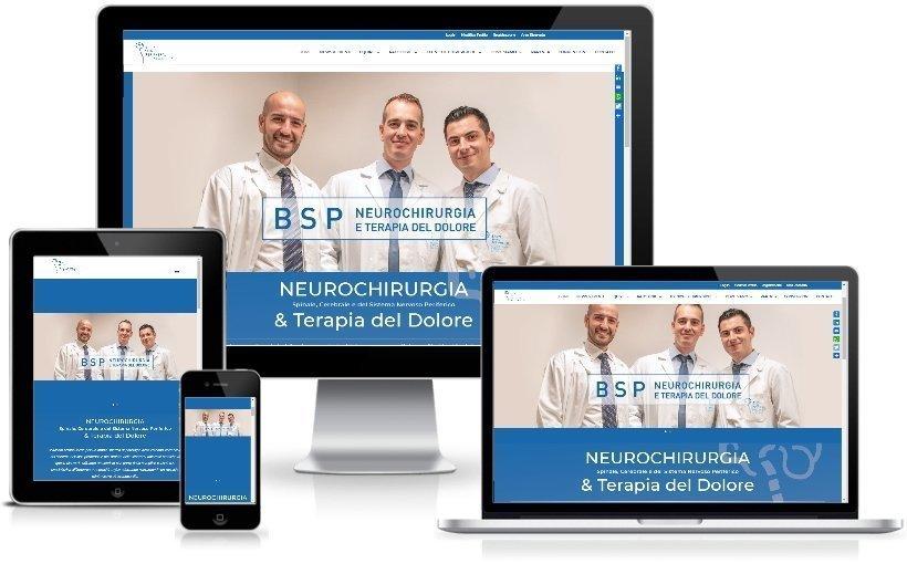 Anteprima Sito Web Responsive bspneurochirurgia.it