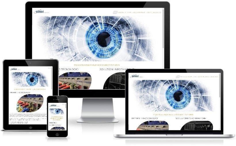 Anteprima Sito Web Responsive eltel-elettronica.com