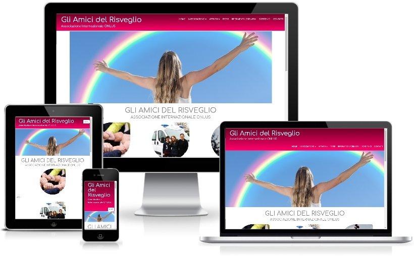 Anteprima Sito Web Responsive gliamicidelrisveglio.org