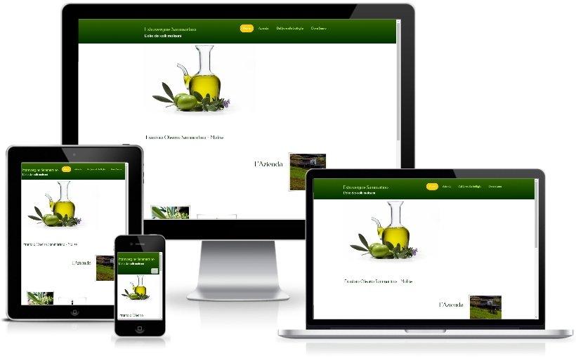 Anteprima Sito Web Responsive olioextraverginesammartino.com