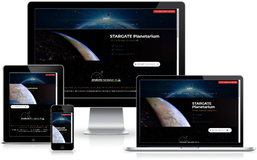 Anteprima Sito Web Responsive stargateplanetarium.it