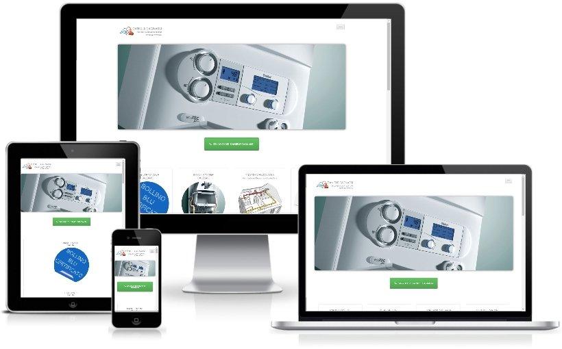Anteprima Sito Web Responsive tecnicocaldaie.it