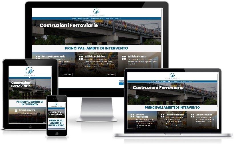Anteprima Sito Web Responsive 3scostruzioniferroviarie.it